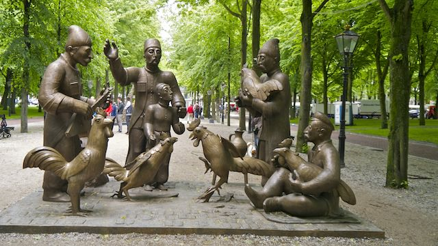 скульптурная композиция Зураба Церетели