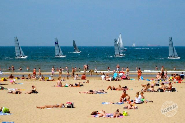 Scheveningen-beach