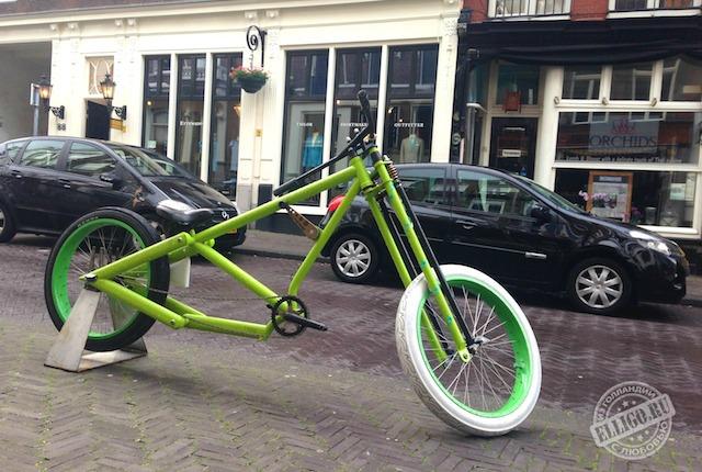 Велосипед великан