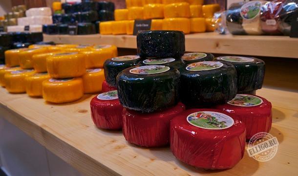 Голландский сыр, Заансе Схаанс
