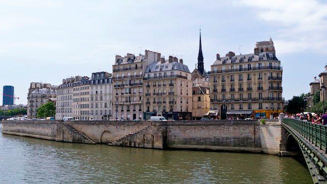 здания Парижа