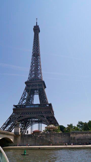 Красавица Эйфелева башня