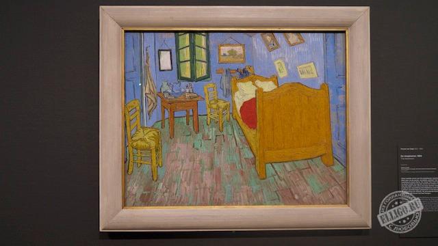 """И еще одна картина """"Спальня в Арле"""""""