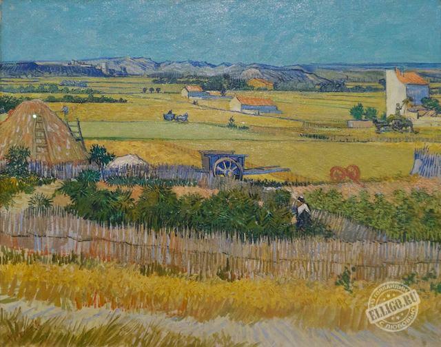 Сбор урожая, Ван Гог