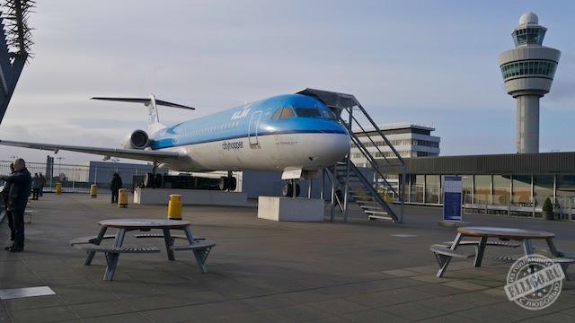 Смотровая площадка аэропорта Схипхол
