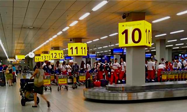 Зал прибытия багажа