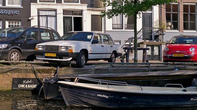 Экстримальная парковка автомобилей
