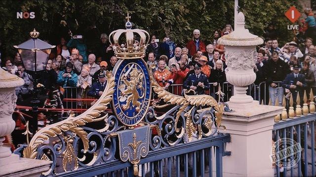 У ворот дворца Нордейнде