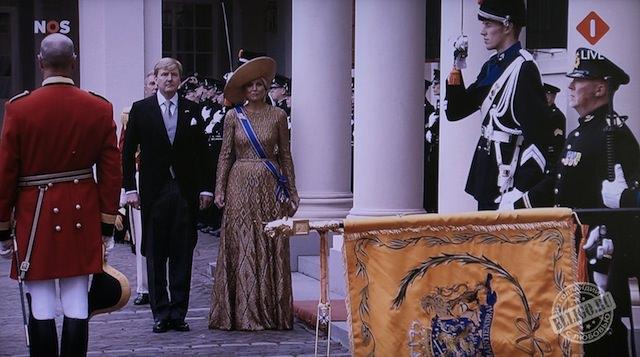 Король Виллем-Александр и королева Максима