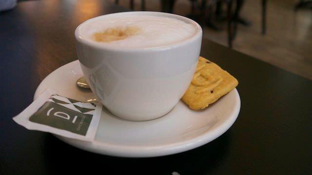 Чашечка утреннего кофе