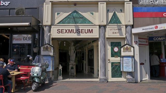 Музей секса на улице Дамрак