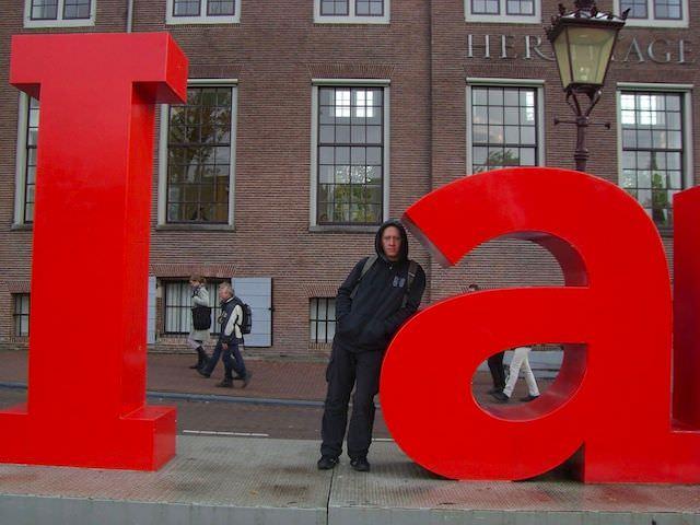 Павел и Амстердам