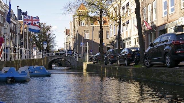 Манера парковки в Нидерландах