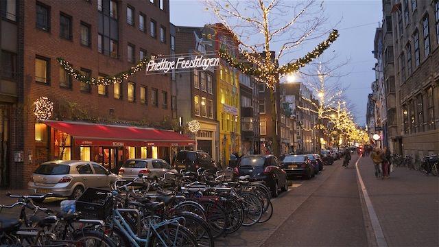 Предновогодний Амстердам