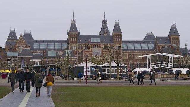 музей Амстердама Рейксмюзеум