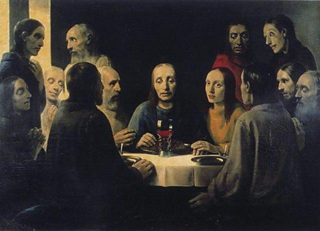 "Картина ""Тайная вечеря"",  фотография с сайта www.omskman.ru"