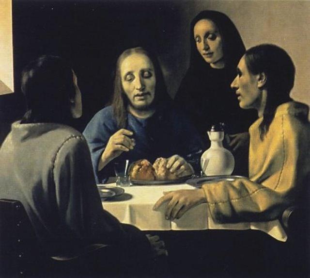 "Картина ""Христос и судьи"", фотография с сайта www.omskman.ru"