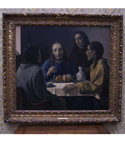 """Картина """"Христос в Эммаусе"""", фотография с сайта hanvanmeegeren.nl"""