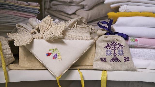 старинные текстиль