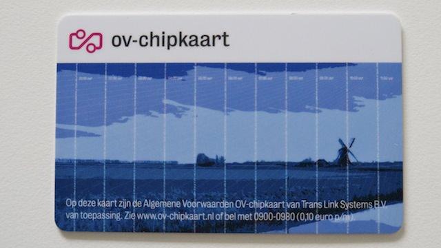 Анонимная карточка OV-chipkaart