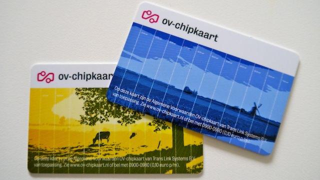 Карточка OV-chipkaart