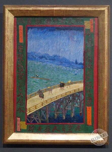 Ливень на большом мосту, Ван Гог