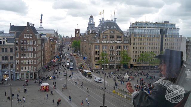 Вид на площадь Дам