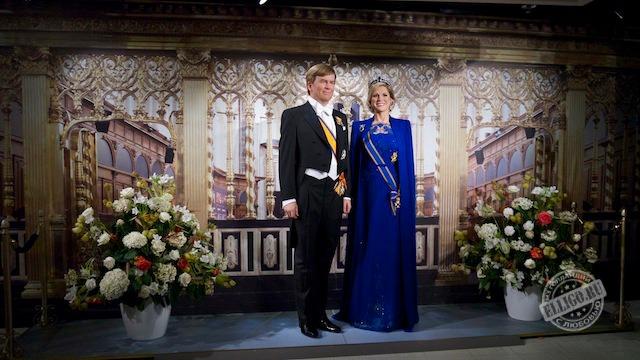 Виллем-Александр и Максима, король и королева Нидерландов