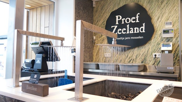 мидии в ресторане Proеf Zeeland