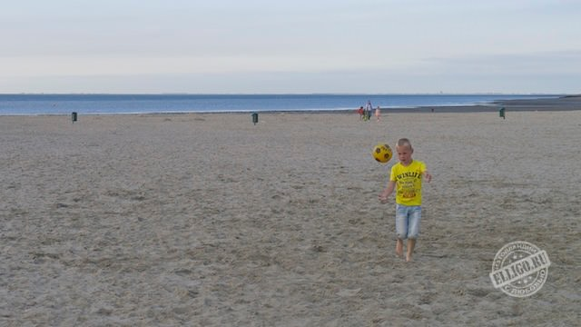 песчаный пляж