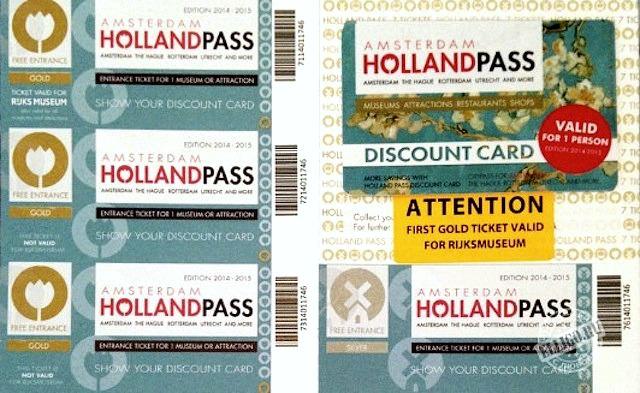 Амстердам Холланд Пасс билеты