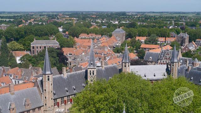 Вид на аббатство, Мидделбург
