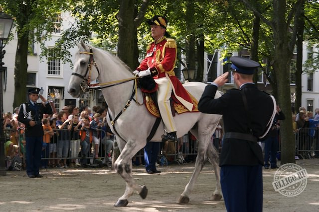 Главнокомандующий на коне, Prinsjesdag