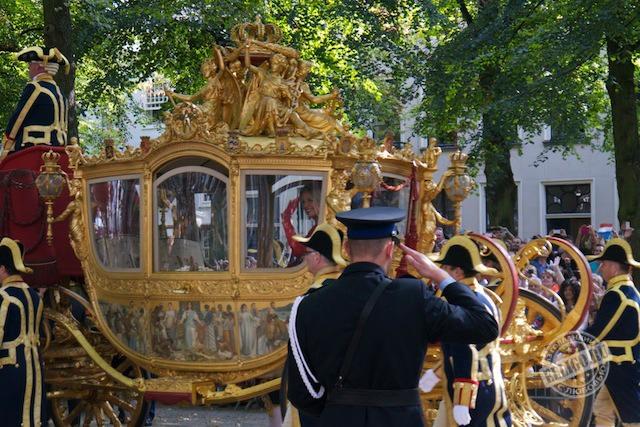 Королева Максима в золотой карете, Prinsjesdag
