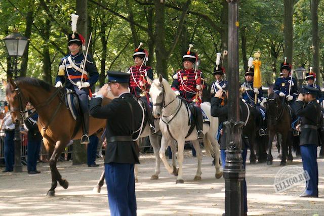 Королевская кавалерия, Prinsjesdag