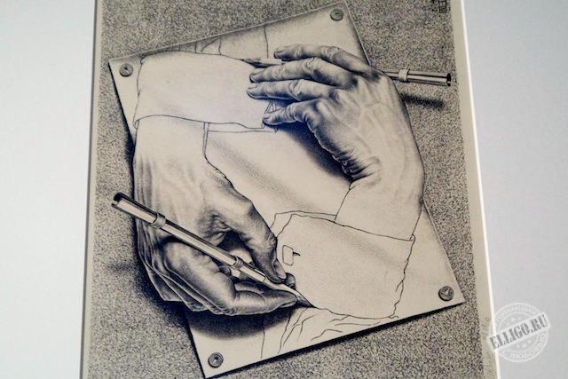 Рисующие руки Эшер, Esher
