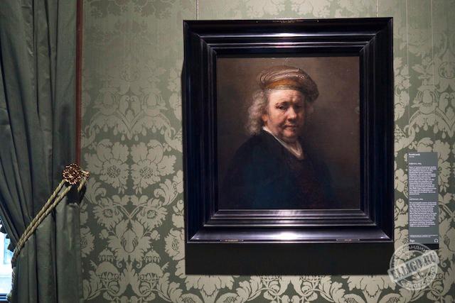 Автопортрет Рембрандта, Музей Маурицхаус, Mauritshuis