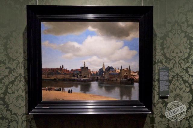 Вид Делфта, Музей Маурицхаус, Mauritshuis