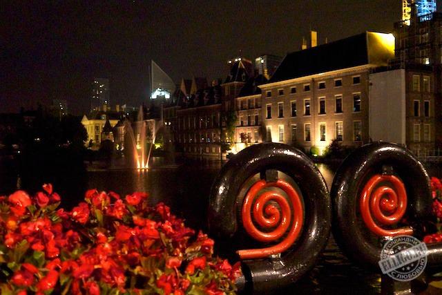 Вид на Парламент, Гаага