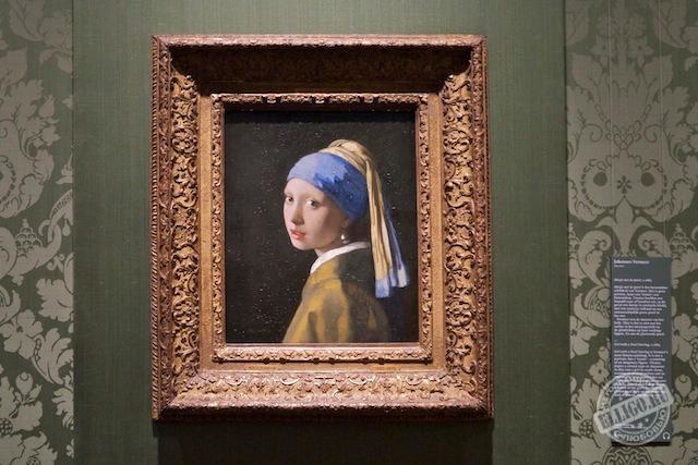 Девушка с жемчужной сережкой, Музей Маурицхаус, Mauritshuis