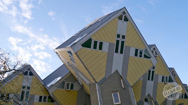 Кубические дома в Роттердаме, Rotterdam