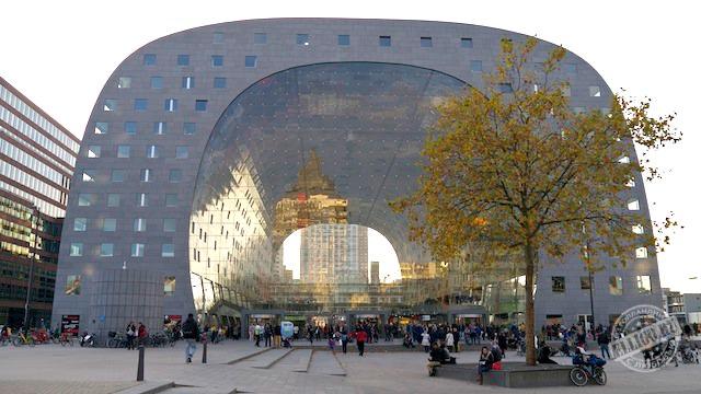 Рынок Роттердама Markthal-40