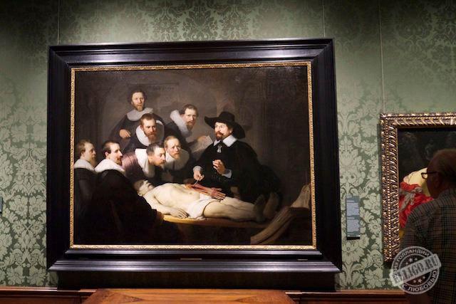 Урок анатомии доктора Тюльпа, Музей Маурицхаус, Mauritshuis