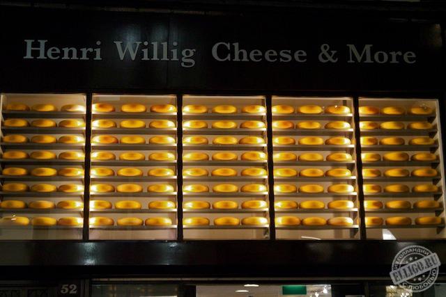 Сырный магазин в Амстердаме