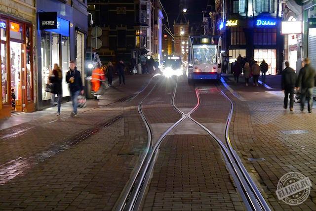 Трамваи в Амстердаме-01