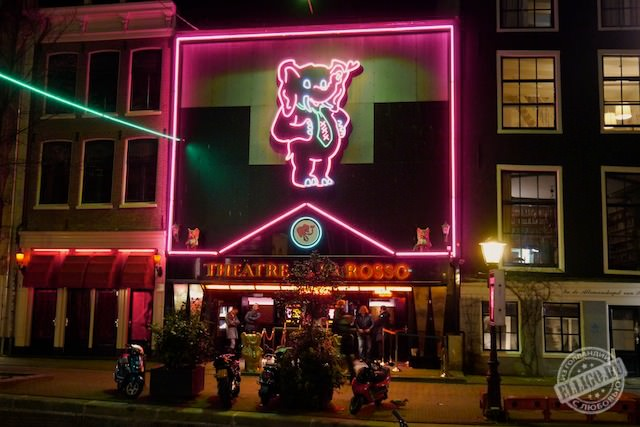 Theatre CASA ROSSO, Амстердам
