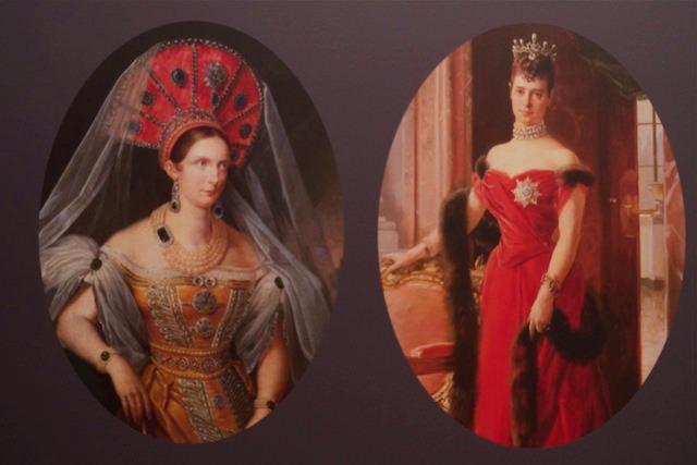 Бальные платья, Музей Эрмитаж в Амстердаме