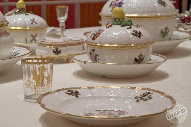 Выставка Эрмитажа Dining with the Tsars-3