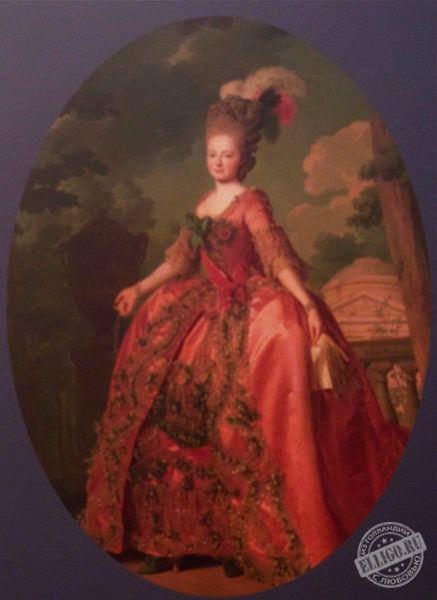 Русское платье, Музей Эрмитаж в Амстердаме