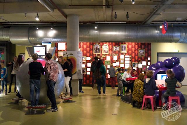 Музей НЕМО в Амстердаме